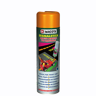 Signalisation: Peinture Spray pour marquage routier 500 ml   Yellow Signs