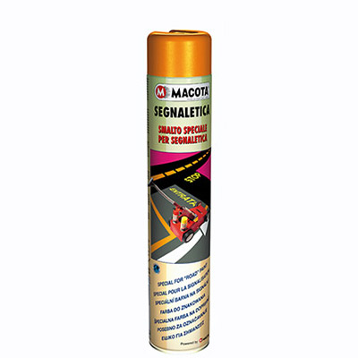 SIGNALISATION: Peinture Spray pour marquage routier 750 ml   Red signs