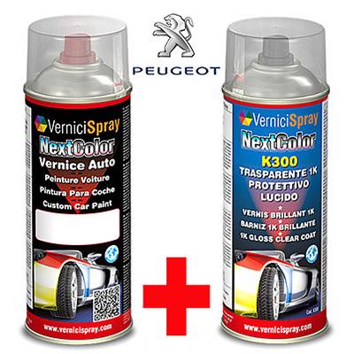 Bombe Kit Retouche Peinture Carrosserie PEUGEOT 1007 EZR GRIS ALUMINIUM MET.