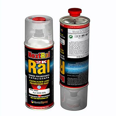 Bombe Peinture Polyuréthane Bi Composants En Teinte Ral Finition