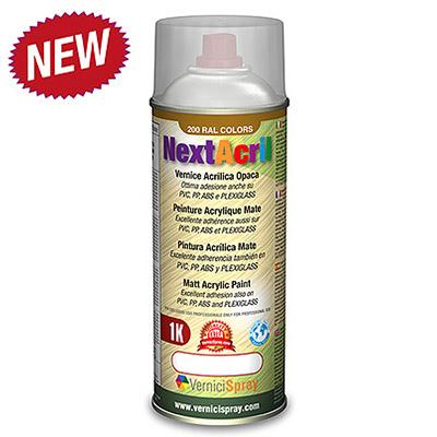 NextAcril - Peinture Acrylique Mate spray aussi pour PVC ...