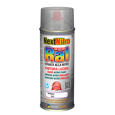 Peinture Nitro spray brillant direct couleurs RAL - Vernicispray.fr