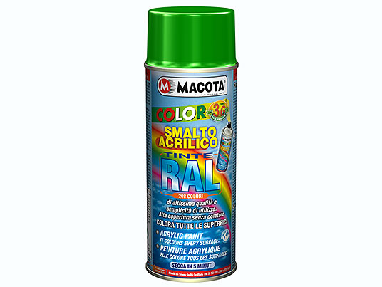 Peintures RAL Spray: Peinture acrylique spray finition Brillante