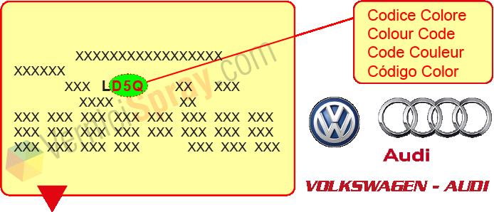 peinture voiture volkswagen audi toutes les les. Black Bedroom Furniture Sets. Home Design Ideas